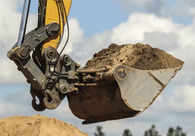 Earth moving 3 Machines
